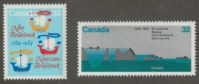 CANADA 1984 #1014-15  2 Commemoratives - MNH