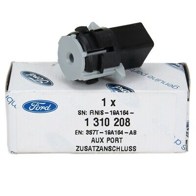 ORIGINAL Ford Adapter AUX IN Anschluss Stecker FOCUS II MONDEO III & IV 1310208