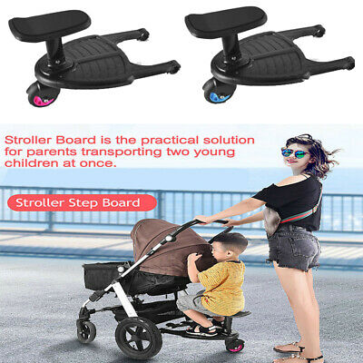 Kids Stroller Step Board Toddler Buggy Wheel Board Skateboard for Pram Jogger