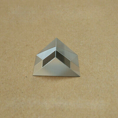 2PC 7x7x7mm K9 Optical Glass Triangular Right Angle Slope Reflecting Prism