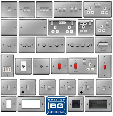 BG Nexus Brushed Steel Switches and Sockets for kidaskidas81