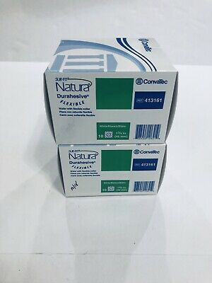 2 ConvaTec 413161 Sur-Fit Natura Durahesive Flexible Collar White 1 3/4in 10/Bx