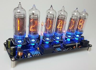 Nixie Clock Kit For IN-14 Nixie Tubes. Tubes AREN'T Included