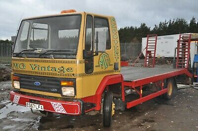 1988 Ford Cargo 811 Iveco Transport Recovery Breakdown Classic Truck 7.5 Ton Vgc