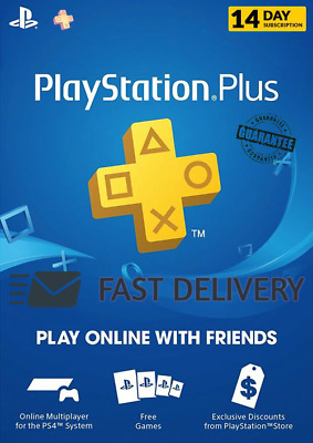 PlayStation Plus 14 Days Subscription PS Plus - Fast Delivery