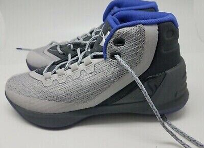 08e45df6acc4 UNDER ARMOUR CURRY 3 Basketball Sneakers Size 7y NWOB 1274061 ...