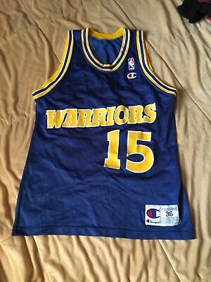 75551434612 Vintage Latrell Sprewell Golden State Warriors Champion Jersey 36 Curry  Durant