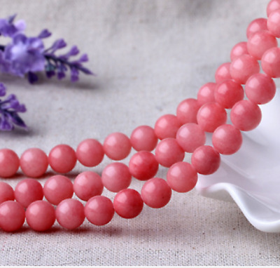 """Charm 4mm bead Natural Smooth Gemstones Round Loose Beads 15""""AAA++"""