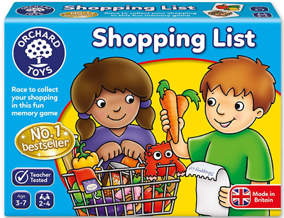 Gift Toy Shopping List Game Orchard  Fun Learning Skill Kids Child Toddler