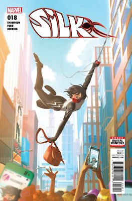Silk #18 Marvel Comics 2015 Cover A 1St Print