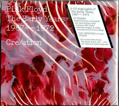 PINK FLOYD - The Early Years 1967-1972  Cre/ation /DigiPack, Booklet/ 2016 2CD