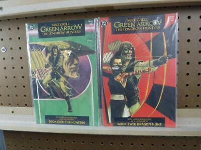 Green Arrow DC The Longbow Hunters Book One & Two VF-NM TPB