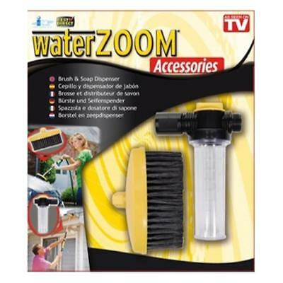 Water Zoom BRUSH & SOAP DISPENSER Accessories Pack New