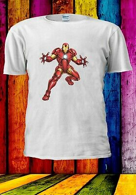 Iron Man Superhero Avengers Tony Stark Men Women Unisex T-shirt 2862