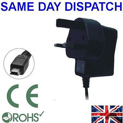 UK Mains Travel AC Wall House Charger For Navman MY650LMMT MiVue Drive Sat Nav