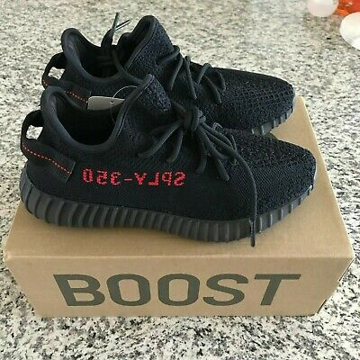 5e9a9b318 2017 ADIDAS YEEZY Boost 350 V2 Kanye West Bred Core Black Red Nmd R1 ...