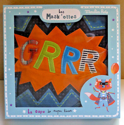 Cape De Super Heros Moulin Roty Reference 713007