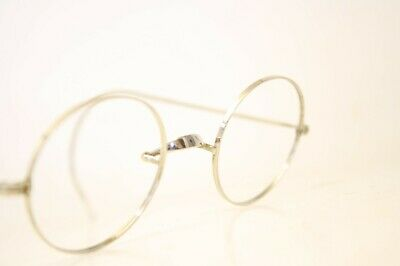 Ovid Silver Authentic Vintage Eyeglasses Windsor Antique Frames Lennon