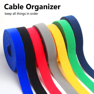 Strap Wire Management Cable Ties Cord Winder Cable Organizer For Home Office