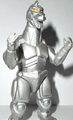 "Godzilla Wars 40TH Anniversary 4"" MECHA-GODZILLA Figure by Trendmasters 1995"