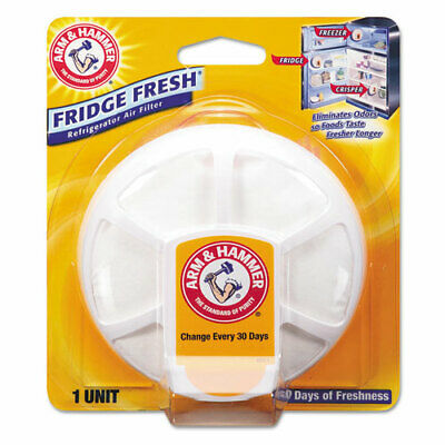 Fridge Fresh Baking Soda, Unscented, 8/Carton