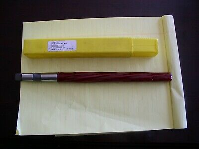 "L & I Taper Pin Reamer #10 Pin 0.7216"" Diam, 0.5799"" Small End 6-13/16"" FL 557U"