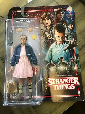 "Stranger Things Eleven 7/"" Figure by McFarlane Toys MISB"