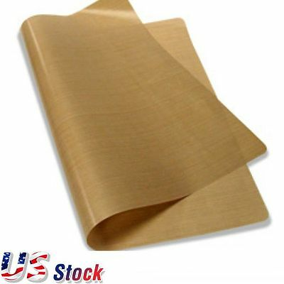 "US Stock 6pcs Packed 16"" x 24"" Teflon Fabric Sheet 5Mil Thickness"