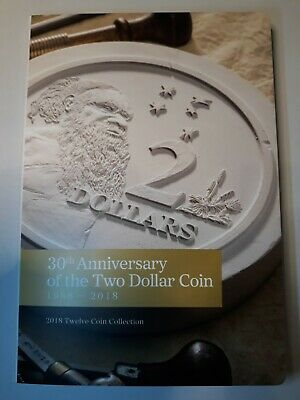2018 30th Anniversary of $2 Coin Set of Twelve Coins - Excellent Condition