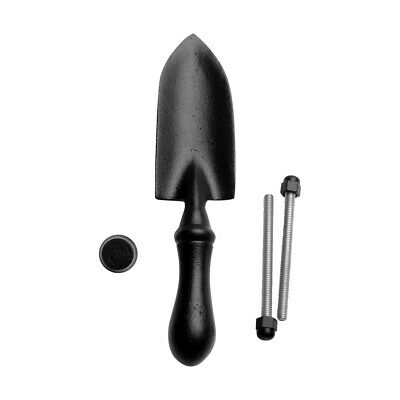 "Door Knocker Black Cast Iron Trowel 7"" H x 1 5/8"" W 