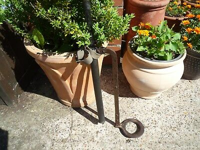 Antique Vintage Brass Stirrup Water Pump Display / Garden Ornament Gateshead