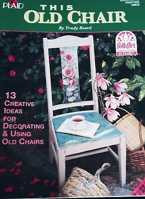 Trudy Beard This Old Chair Tole Decorative Painting Book Pattern Instruction