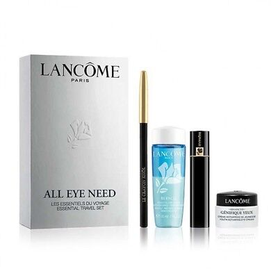bcf33a6cb82 Lancome All Eye Need - Black Pencil ,Mascara, Cleanser & Activating Eye  Cream