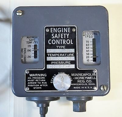 Honeywell Engine Safety Control New Old Stock
