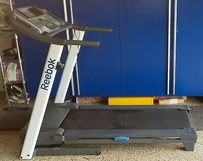 REEBOK 8000 ES Treadmill, Foldable to Small Space, iPod/Player