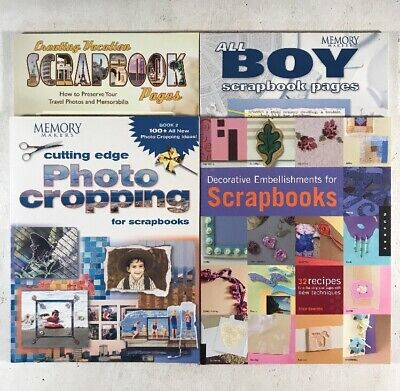 4 How To Scrapbook Books on Decorative Embellishments, Vacation & Boy