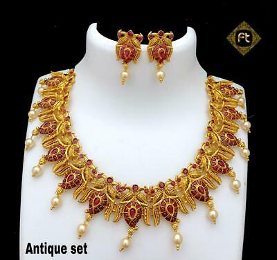 Fashion Jewelry High Quality Bollywood Style Partywear Designer Necklace Set Yg347