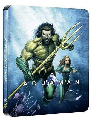 Aquaman (Bluray) FAC Limited Collectors Steelbook With (Illustrated Artwork)