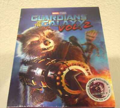 Guardians of the Galaxy Vol 2 Blufans single lenticular 3D 2D blu-ray steelbook