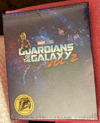 Guardians of the Galaxy Vol 2 Blufans one-click boxset 3D + 2D blu-ray steelbook