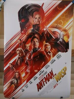 Ant Man and The Wasp authentic 27 x 40 Coming Soon Double Sided Movie Poster