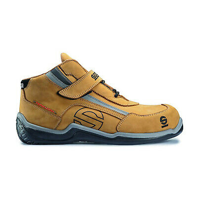 Neu Schuhe beige Sparco Teamwork Racing High (44 (9.5 UK) (10 US))