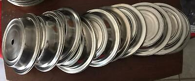"""10 PCS 9.5"""" Plate Cover Stainless Steel NSF Catering Hotel Room Service"""