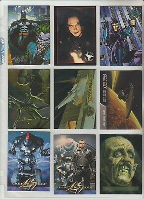 Promo Cards Group B For Movies, Tv, Syfy, Parody And Fantasy Cards $.99 Each Ex