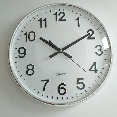 Contemporary Dome Face Classic Round Wall Clock  living room Kitchen wall  clock