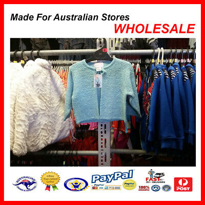AUS WHOLESALE BABY KIDS CLOTHING Toddler Girl Knit Cardigan  MYER STOCK From $10