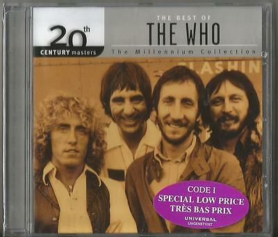 CD Brand New SEALED The Best Of The WHO The Millennium Collection