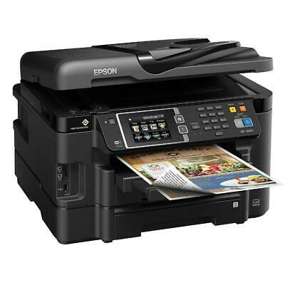 Nearly new Epson C88 Printer bundle with filled installed sublimation ink ciss