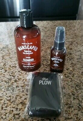Manscaped The Gentlemen's Kit  ( THE PLOW, REVIVER AND CROP CLEANSER) BUNDLE