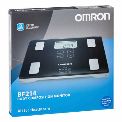 Omron Bf214 Body Composition Monitor Measure Body Fat Bmi Body Mass Index Muscle